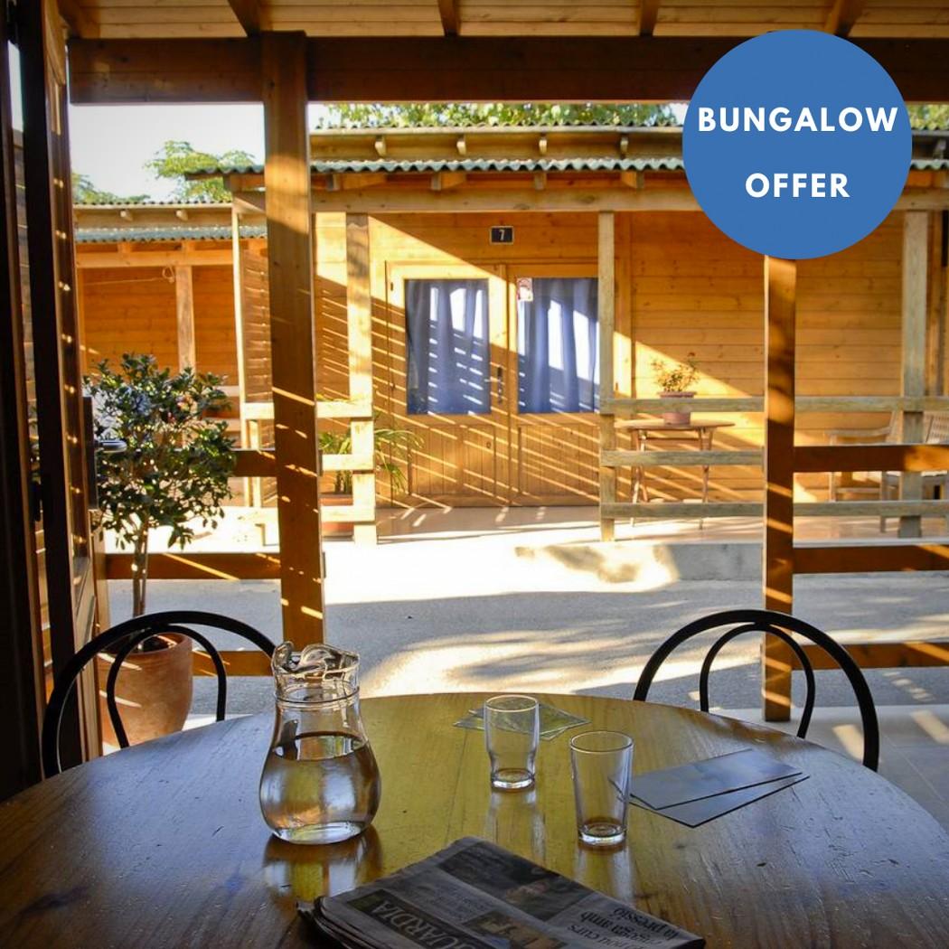 bungalow offer camping joncar mar